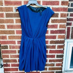 Topshop Pleated Dress